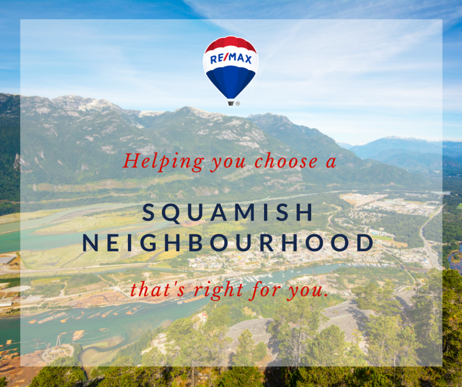 Explore Squamish Neighbourhoods