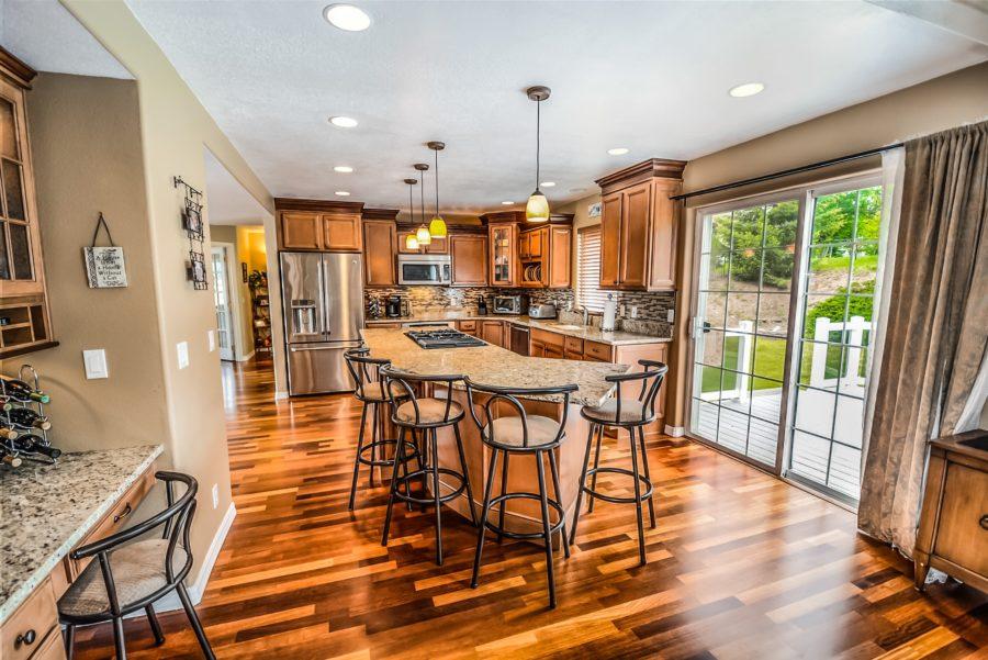 open concept kitchen squamish